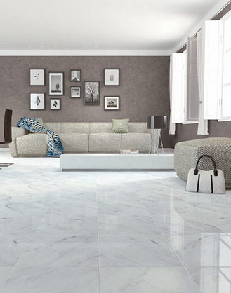 Carrara Marble Effect