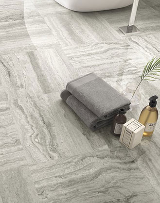 Classic Grey Marble Effect