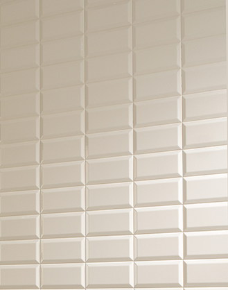 Cream Brick Shaped Tiles