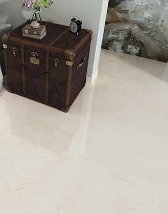 Crema Marfil Marble Effect