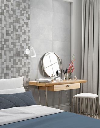 Energy Light Grey Porcelain Wall