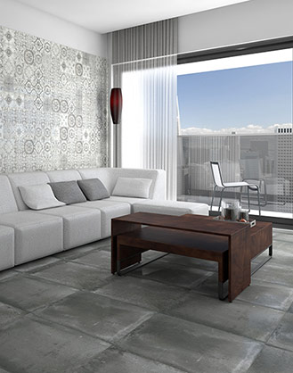 Form Concrete Effect Porcelain