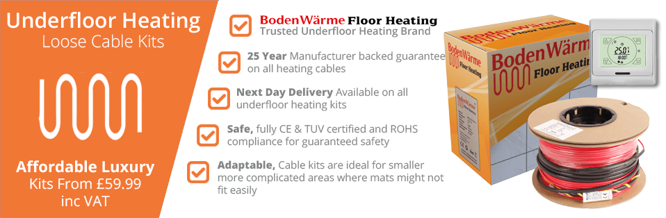 Under Tile Heating Loose Cable