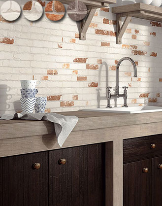 Manhattan Brick Effect Wall Tiles From Only 19 95 M