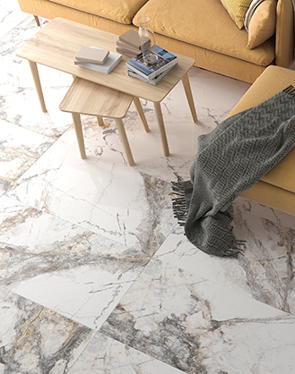 Milan Polished Marble Effect