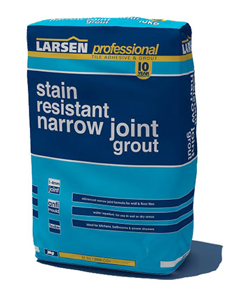Narrow Joint Grout for Delicate Tiles
