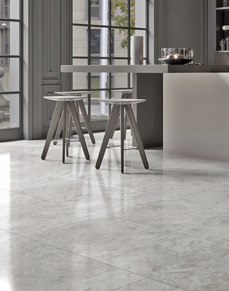 Nordic Grey Marble Effect Porcelain