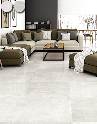 Polished Cement Effect