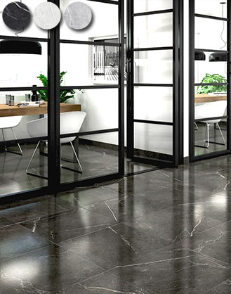 Rectified Gloss Marble Effect