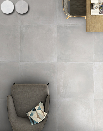 Rectified Matt Grey Concrete Effect
