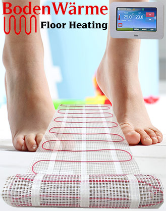 150 W/M² Under Tile Heating Mat