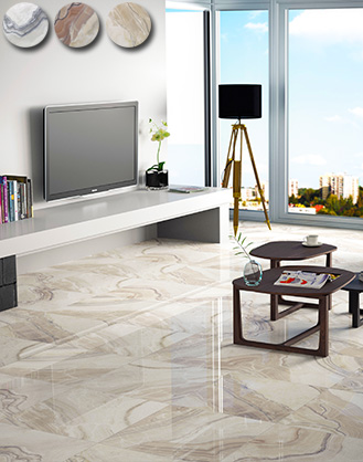 Vivid Rectified Gloss Marble Effect