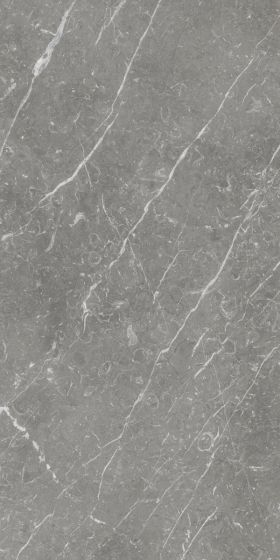 Florence Grey Polished Marble Effect XL Porcelain Tile 1200x600mm
