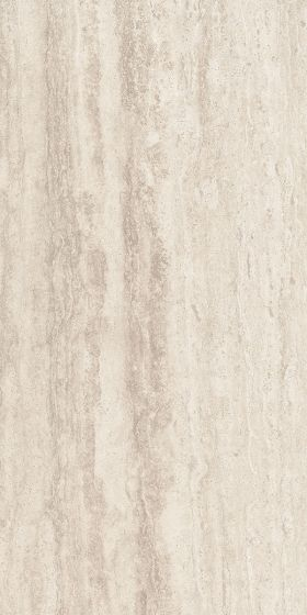 Matt Travertine Beige Stone Effect Porcelain Tile
