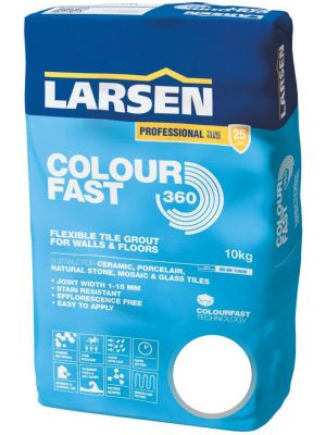 Colour Fast 360 Flexible Wall & Floor Grout White 10kg