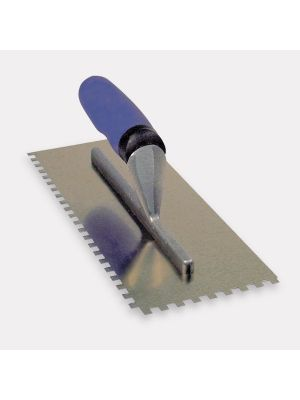 Professional Stainless Steel Wall Tile Adhesive Trowel 6mm Square Notch
