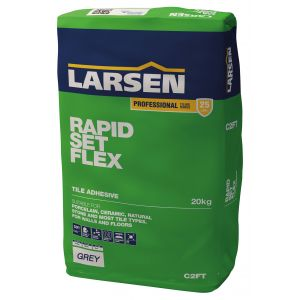 Rapid Set Flexible Grey Floor & Wall Tile Adhesive