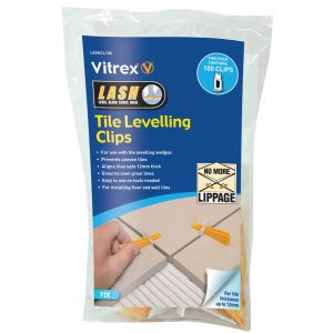 Vitrex LASH Spacer Levelling Clips