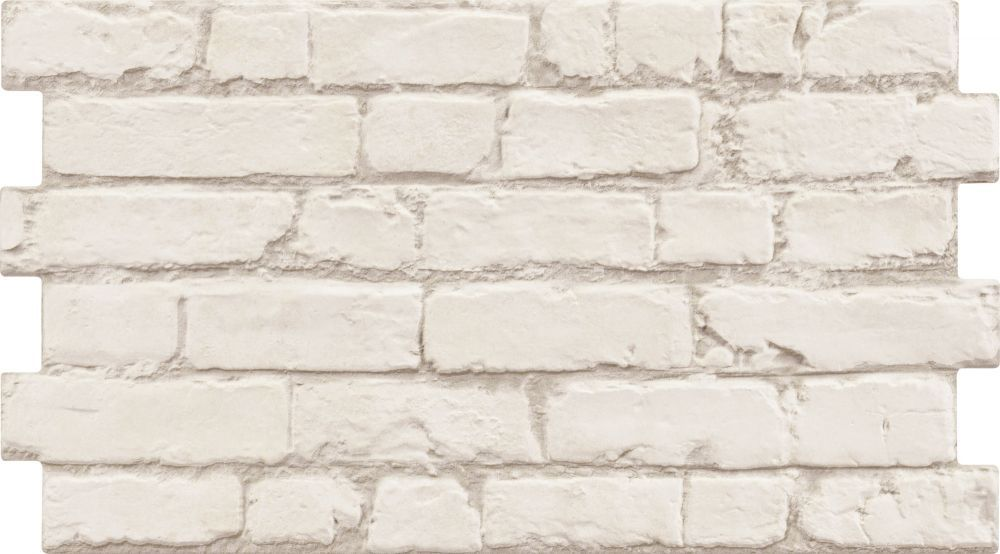 Manhattan Rustic White Brick Effect Tiles 19 95 M