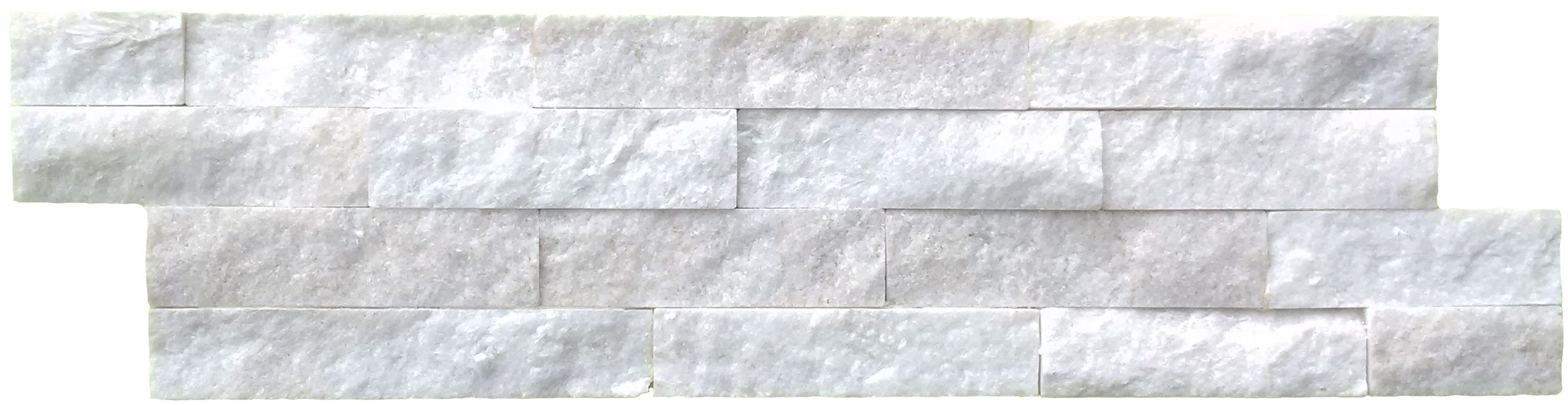Split Face Carrara Marble Mosaic Tiles Only 34 72 M
