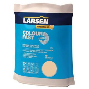 Colour Fast 360 Flexible Wall & Floor Grout Beige 3kg