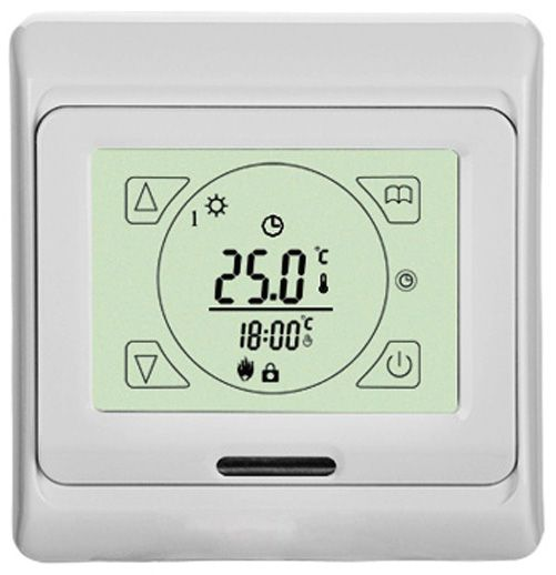 Touch Screen Underfloor Heating Thermostat