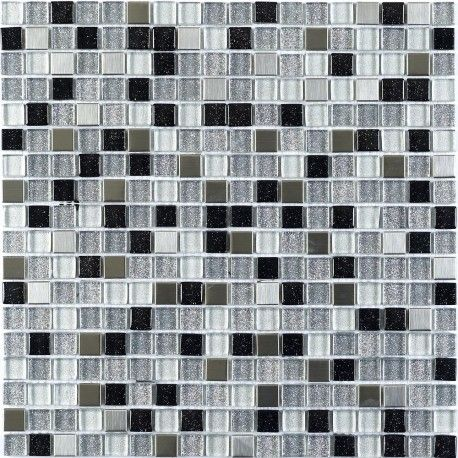 Glass Sparkle Metal Mix Mosaic