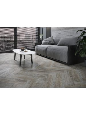Andes Greige Wood Effect Porcelain Floor Tile