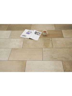 City Shades Beige Rectified Porcelain Wall & Floor Tile