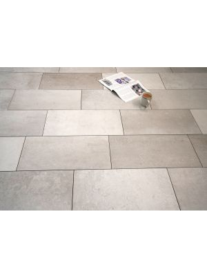 City Shades Light Grey Rectified Porcelain Wall & Floor Tile