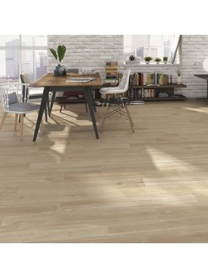 Classic Oak Plank Wood Effect Porcelain Floor Tile
