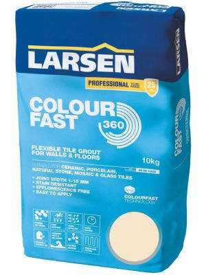 Colour Fast 360 Flexible Wall & Floor Grout Jasmine 10kg