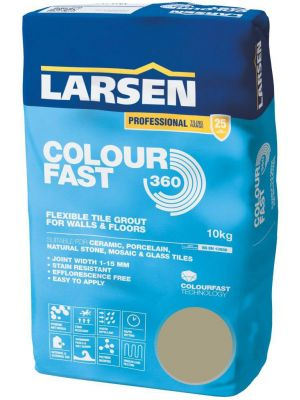 Colour Fast 360 Flexible Wall & Floor Grout Limestone 10kg