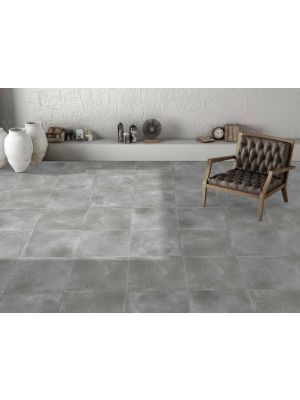 Energy Grey Concrete Effect Porcelain Floor Tile