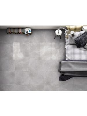Energy Light Grey Concrete Effect Porcelain Floor Tile