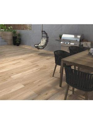 Kiruna Oak Wood Effect Porcelain Floor Tile