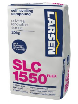 Flexible Self Levelling Compound 1550 Universal (Fibre Flex) 3-50mm