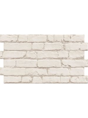 Manhattan Rustic White Brick Effect Tiles