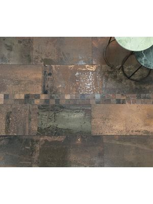Metallic Copper Porcelain Wall And Floor Tile