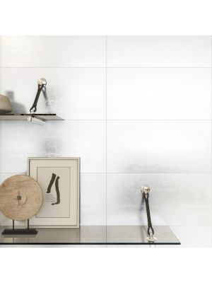 Neve White Rectified Wall Tile