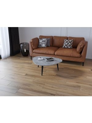 Pennine Roble Oak Wood Effect Porcelain Floor Tile
