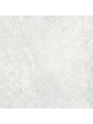 Rectified Light Grey Gloss Marble Effect Porcelain Floor Tile