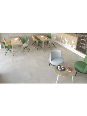 Sand Wash Grey Matt Porcelain Floor Tile 600x600mm