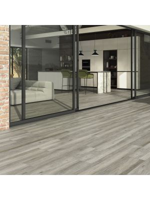 Sandalo Limed Oak Wood Effect Porcelain Floor Tile