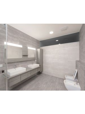 Sparkle Light Grey Textured Feature Wall Tile