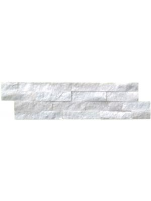 Split Face Carrara Marble Mosaic Tiles