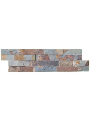 Split Face Multi Colour Natural Slate Tiles