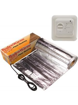 Underfloor Heating Kit for Laminate +Manual Thermostat