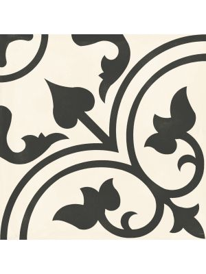 Victorian Style Scroll Porcelain Floor Tile