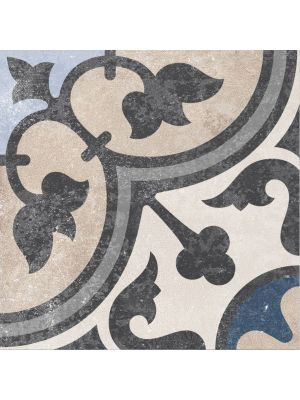 Victoriana Encaustic Effect Porcelain Floor Tile